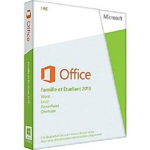 Microsoft Office Famille et ??tudiant 2013 Product Key (Medialess