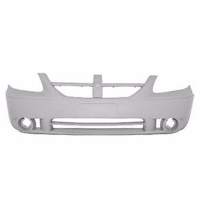 NEW PAINTED 2005-2007 DODGE CARAVAN FRONT BUMPERS +FREE SHIPPING