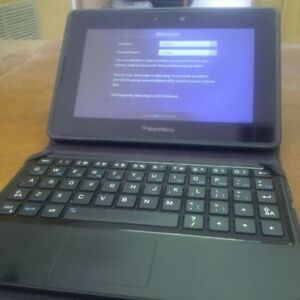 32GB Blackberry Playbook with case, keyboard and charger London Ontario image 1
