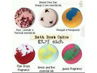 Bath cakes (ideal valentines gift)