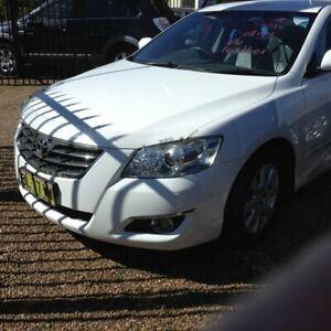 2007 Toyota Aurion GSV40R Prodigy White 6 Speed Sports Automatic Sedan Raymond Terrace Port Stephens Area Preview