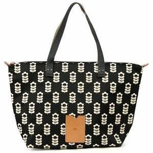 Orla Kiely Little Sweat Pea Zippered Shopper Bag - Brand New Alexandria Inner Sydney Preview