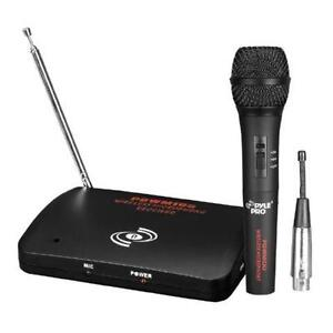 Pyle-Pro Dual Function Wireless-Wired Microphone System - PDWM10