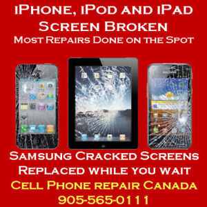 iPhone 10 (X) Complete Screen Replacement same day! 905-565-0111