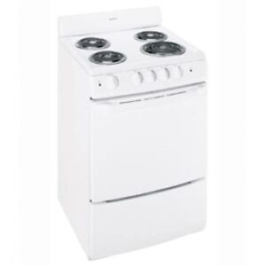 """24"""" WIDE ELECTRIC AND GAS STOVES!"""