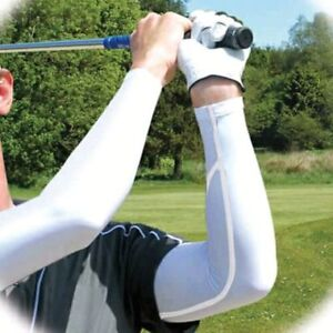 Play & Look Like a Pro This Golf Season-Compression Arm Sleeves