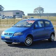 2007 Holden Barina TK MY08 Blue 4 Speed Automatic Hatchback Run-o-waters Goulburn City Preview