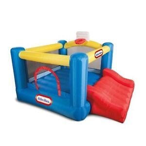 a nice Junior Sports 'N Slide Bouncer  little tikes