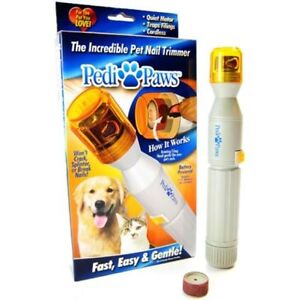 Brand New As Seen On TV Pedi Paws Pet Nail Trimmer Dog Cat