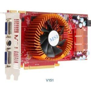 MSI Radeon HD 4850 512M,B 256-Bit GDDR3 PCI Express Video Card