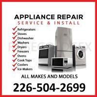 Appliance Repair $50 flat rate (NO SERVICE CHARGE)