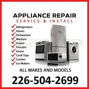 Appliance Repair $50 flat rate (NO SERVICE CHARGE) London Ontario image 1