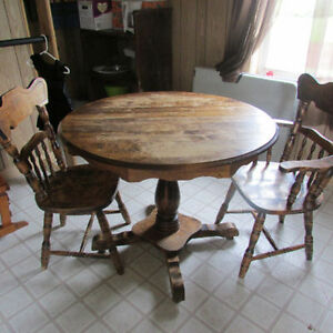 Dining table solid maple