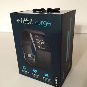 FITBIT Surge Fitness Super Smartwatch Watch W/Gps & Hr Monitor