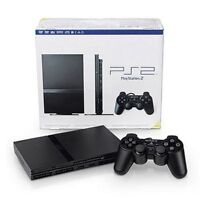 Playstation 2 Slim with 3 controllers