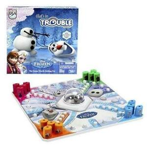 New Disney Frozen Olaf 's  in Trouble Game ~ by Hasbro Official
