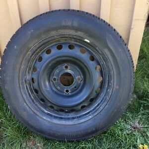 4 TIRES AND RIMS LOTS OF TREAD 185/65/R15