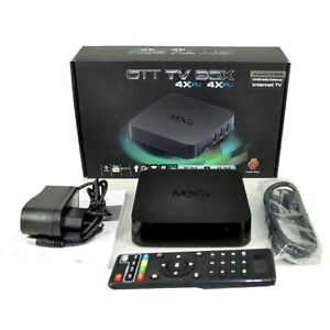 Great Mother's Day Gift (Free Delivery) MXQ Android Tv Box