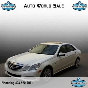 2012 MERCEDES E300 WHITE |BROWN INTERIOR| CAMERA| HEATED SEATS