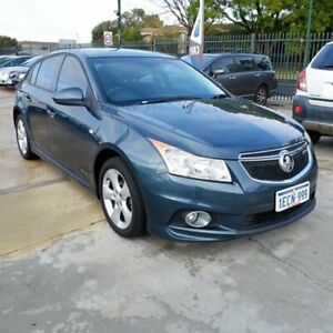 2012 Holden Cruze JH Series II MY12 SRi-V Blue 6 Speed Sports Automatic Hatchback St James Victoria Park Area Preview
