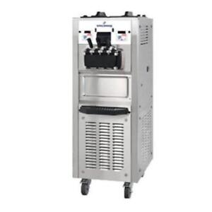 Soft Serve Ice Cream Machine with 2 Hoppers 208/230V 1 PHASE . *RESTAURANT EQUIPMENT PARTS SMALLWARES HOODS AND MORE*