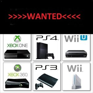 WANTING TO BUY BROKEN <WII U<PS4<PS3<XBOX ONE<XBOX 360