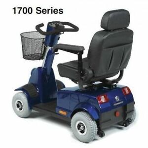 Blue Fortress 1700 DT 4-Wheel Mobility Scooter *LIKE NEW*