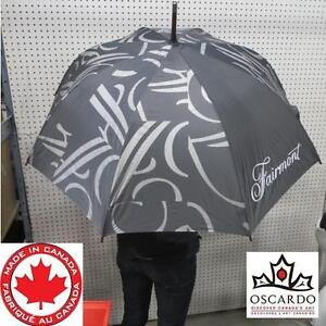 "NEW FAIRMONT HOTEL UMBRELLA 34"" END TO END - 8 PANEL 105577521"