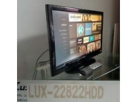 LUXOR - 22822HDD 22 INCH HD LCD tv