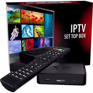 ORIGINAL MAG254 WITH DUAL BAND WIFI + 12 MONTHS IPTV $175 ONLY.