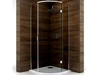 Cooke and Lewis Cascata shower enclosure.