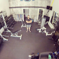 Contract free, affordable personal training in private gym.