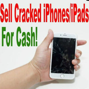 Sell your Cracked iPhone for cash!