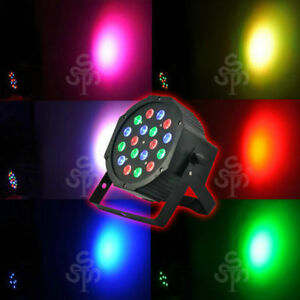 18*3W Led Stage Light High Power RGB Par Light With DMX512 NEW