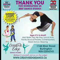 Summer Dance Camps and Toddler Dance Class Special