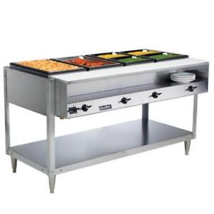 Vollrath 38118 ServePan Electric Four Pan Hot Food Table 208/240V *RESTAURANT EQUIPMENT PARTS SMALLWARES HOODS AND MORE*