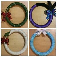 ONE OF A KIND HOLIDAY WREATHS!