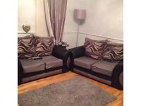 Two 2 seater sofas exclent condition