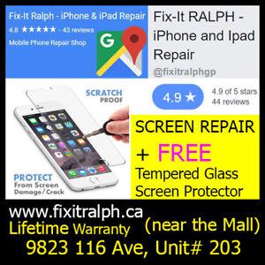 iPhone 6S Broken LCD Glass Screen Repair for $110