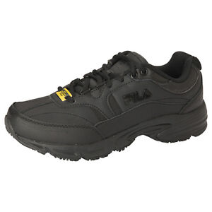 44f3ad8cce Womens FILA Memory Foam Workshift Non Skid Slip Resistant Work Shoes Size 6