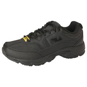 fb82c63479 Womens FILA Memory Foam Workshift Non Skid Slip Resistant Work Shoes Size 6