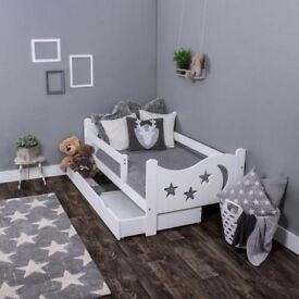 NOW CHEAPER ! Kids Toddler Bed in white colour FREE DELIVERY