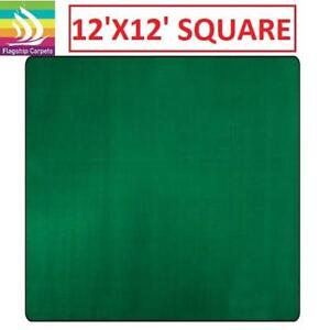 NEW AMERICOLORS CLOVER AREA RUG 186986667 GREEN 12'x12' square
