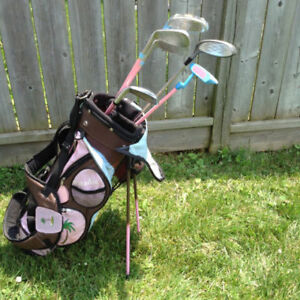 KIDS GOLF CLUBS SET GIRLS BOYS LEFT & RIGHT Sets youth YOUTH JUN