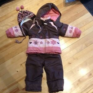 Habit de neige fille 3 ans