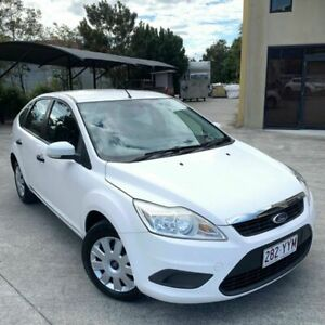 2009 Ford Focus White 4 Speed Automatic Hatchback Burleigh Heads Gold Coast South Preview