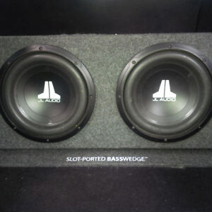 MINT JL Audio W3 Subwoofer (2x10 in) for sound system