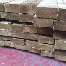 🌟 Pressure Treated Timber (4 x 2) 100mm x 47mm x 3.6m