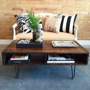 Hairpin Coffee / Desk / Console / Dining Table / Bench / Stool