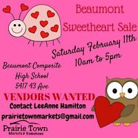 WANTED: Local vendors for Beaumont Valentine's market!